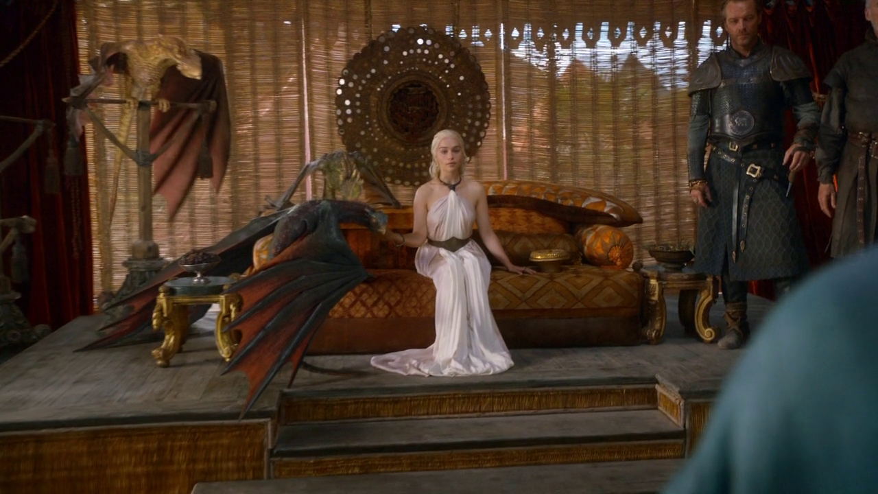 The Mother Of Dragons And Queen Of Perfect Skin