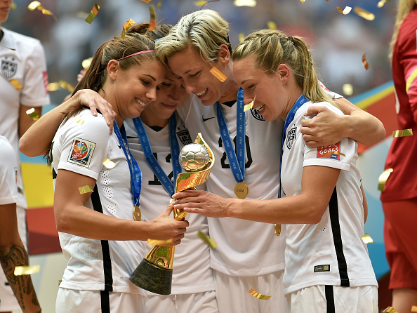 in the FIFA Women's World Cup Canada 2015 Final at BC Place Stadium on July 5, 2015 in Vancouver, Canada.
